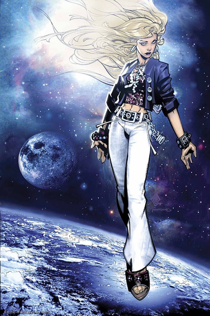 Chris Bachalo-Runaways007 By Chris Bachalo