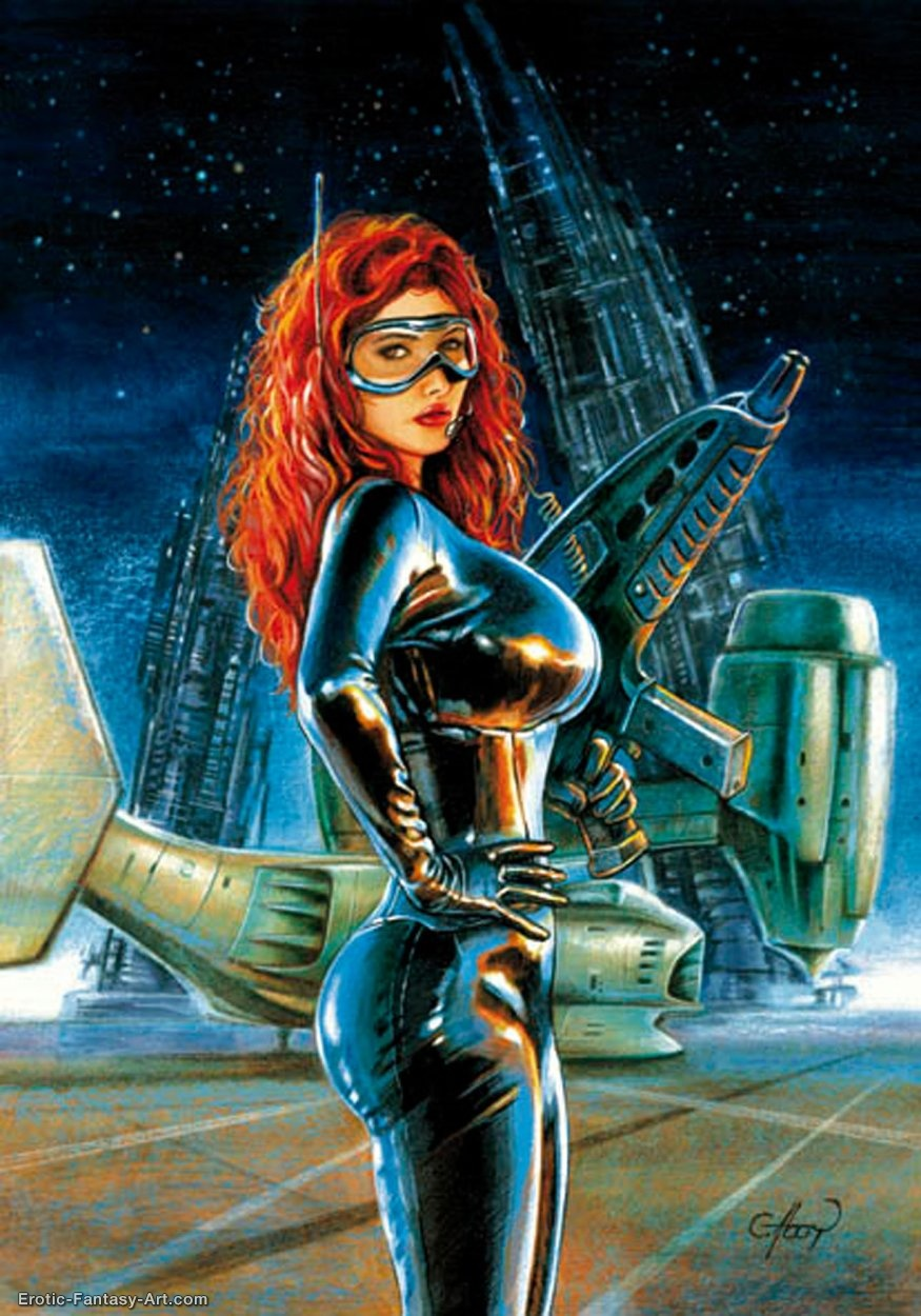 Claudio Aboy-War Girl