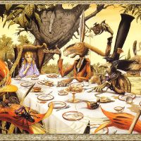 Rodney_Matthews-Rodney_Matthews_-_At_the_March_Hare`s_Table