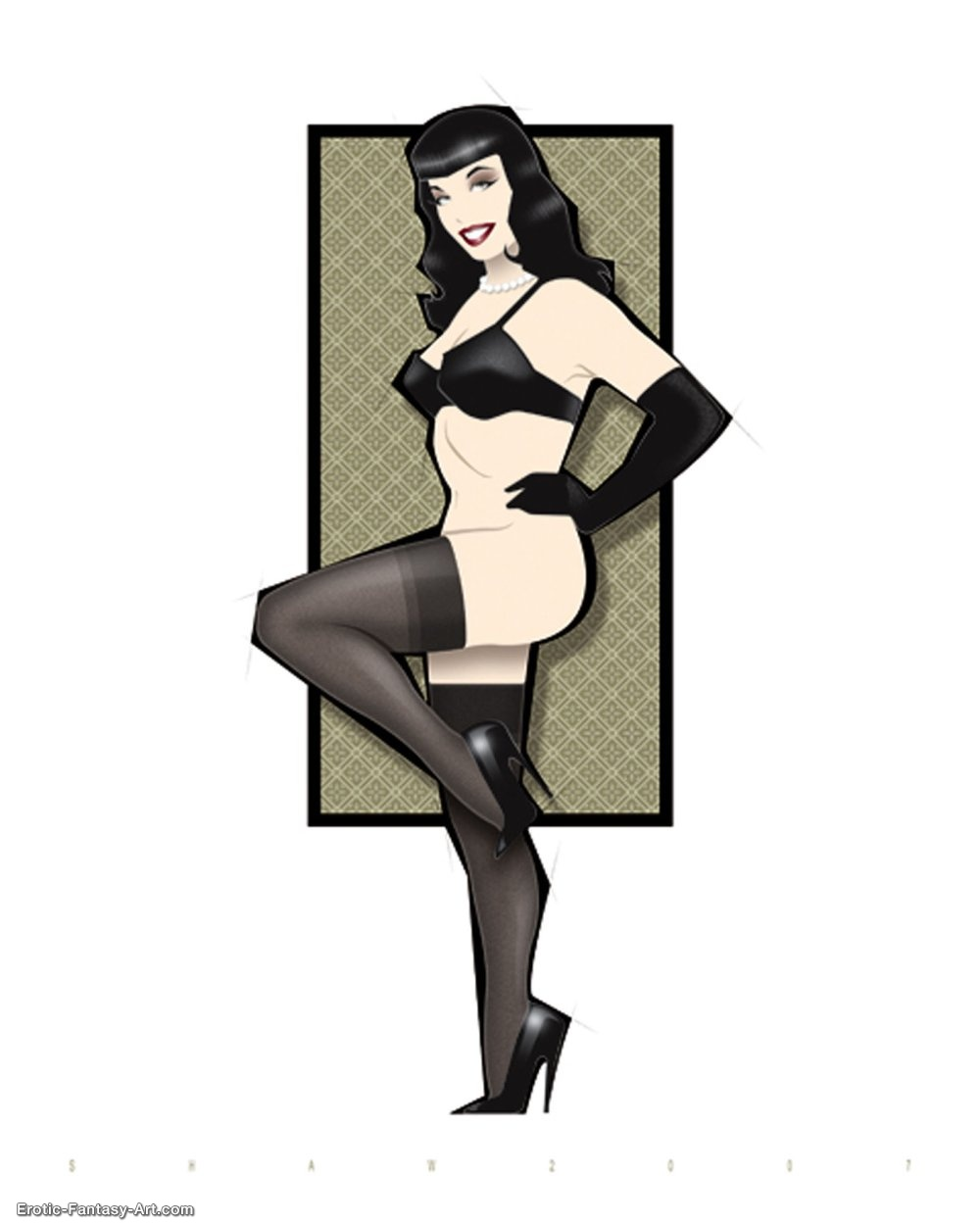 Christopher Shaw-Bettie Page