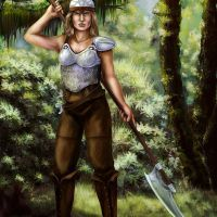 Theresa_McGray-Female_Human_Fighter_By_theresa_McGray