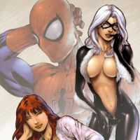 Ed_Benes-Spider-Man,_Mary_Jane,_and_Black_Cat_By_Ed_Benes