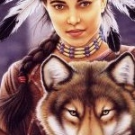 Howard_Robinson-Howard_Robinson_-_Indian_Maiden_and_Wolf