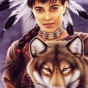Howard_Robinson-Howard_Robinso<br />n_-_Indian_Maiden_and_Wolf
